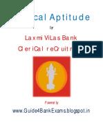 Clerical Aptitude for Lakshmi Vilas Bank Clerks Exam.pdf