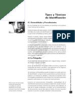 MED.legaL IV. Capitulo 4. Tipos y Tecnicas de Identific.