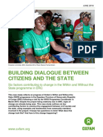 Building Dialogue Between Citizens and the State