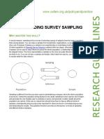 Understanding Survey Sampling