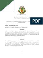 informe laboratorio Espe ley de Coulomb