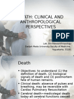Death Clinical and Anthropological Perspectives