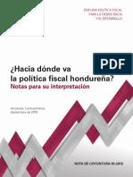 Hacia Donde Va La Politica Fiscal Hondurena 0