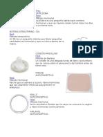 10 metodos anticonceptivos