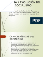 CARACTERISTICAS SOCIALISMO