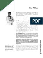 MED.legaL VII. Capitulo 1. Etica Medica