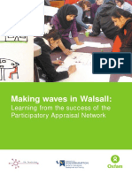 Making Waves in Walsall