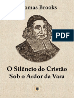 O Silêncio Do Cristão Sob o Ardor Da Vara - Thomas Brooks