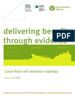 Local Flood Risk Research Roadmap Report
