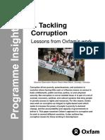 Tackling Corruption
