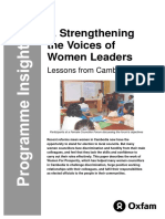 Strengthening the Voices of Women Leaders