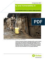 Urban Poverty and Vulnerability in Kenya