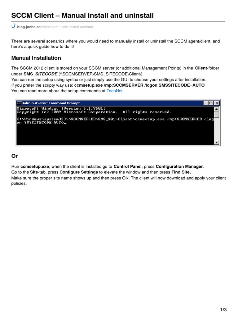 Blog jocha se-sCCM Client Manual Install and Uninstall (1) (1