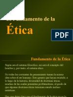 Fundamento de La Etica