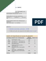 Grade Matematica UFMG