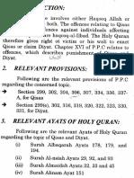 Qasas and Diyat