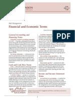 Risk Management - Financial and Economic Terms - Dean McCorkle and Danny Klinefelter
