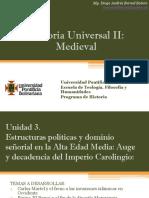 Unidad 3 Estructuras Políticas y Dominio Señorial en La Alta Edad Media (Avance)