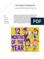 months of the year website