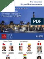Centros de Distribucion Internacional y Las BEPS