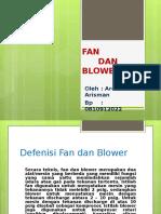 Blower and Fan