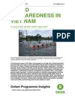 Flood Preparedness in Viet Nam