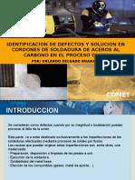 Identificacion de Defectos y Solucion de Los Cordones en Mig-mag