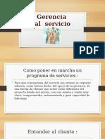 Gerencia de Servicio