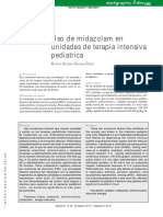 Midazolam Uso en UTI Pediátrica