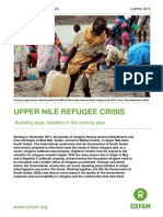 Upper Nile Refugee Crisis