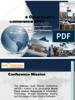 Malaysia Open Source Conference Sponsorship Proposal 2017 (MOSCMY2017)