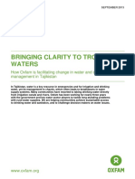 Bringing clarity to troubled waters