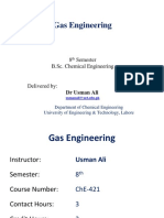 Introduction to  Gas Engineering