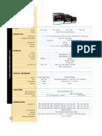 PID Temperature Conrtoller Specifications
