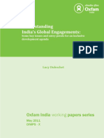 Understanding India's Global Engagements