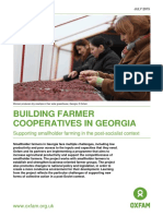 Building Farmer Cooperatives In Georgia