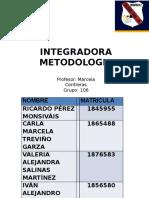 Integradora Etapa 4 Metodologia.