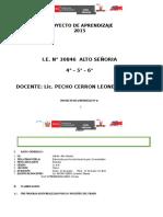 PROYECTO DE APRENDIZAJE MARZO  2015.docx