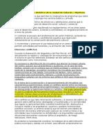Plan Parcial Centro Histórico de La Ciudad de Culiacán