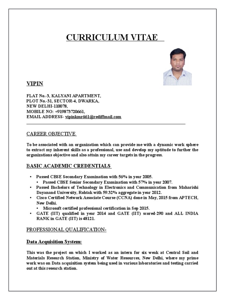 vipin resume  cisco certifications  technology