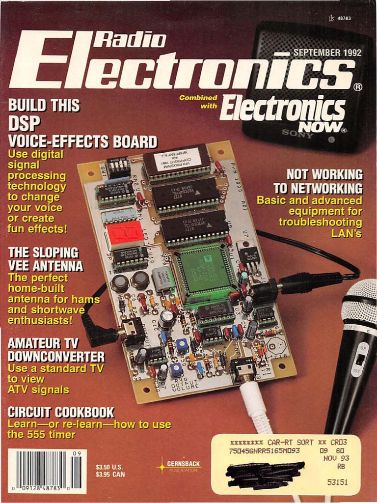 Circuits zone 187 1001 electronic project circuits - Radio Electronics September 1992 Electronic Engineering Magnetic Resonance Imaging