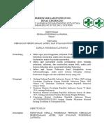 SK Perencanaan, Akses, Evaluasi PKM