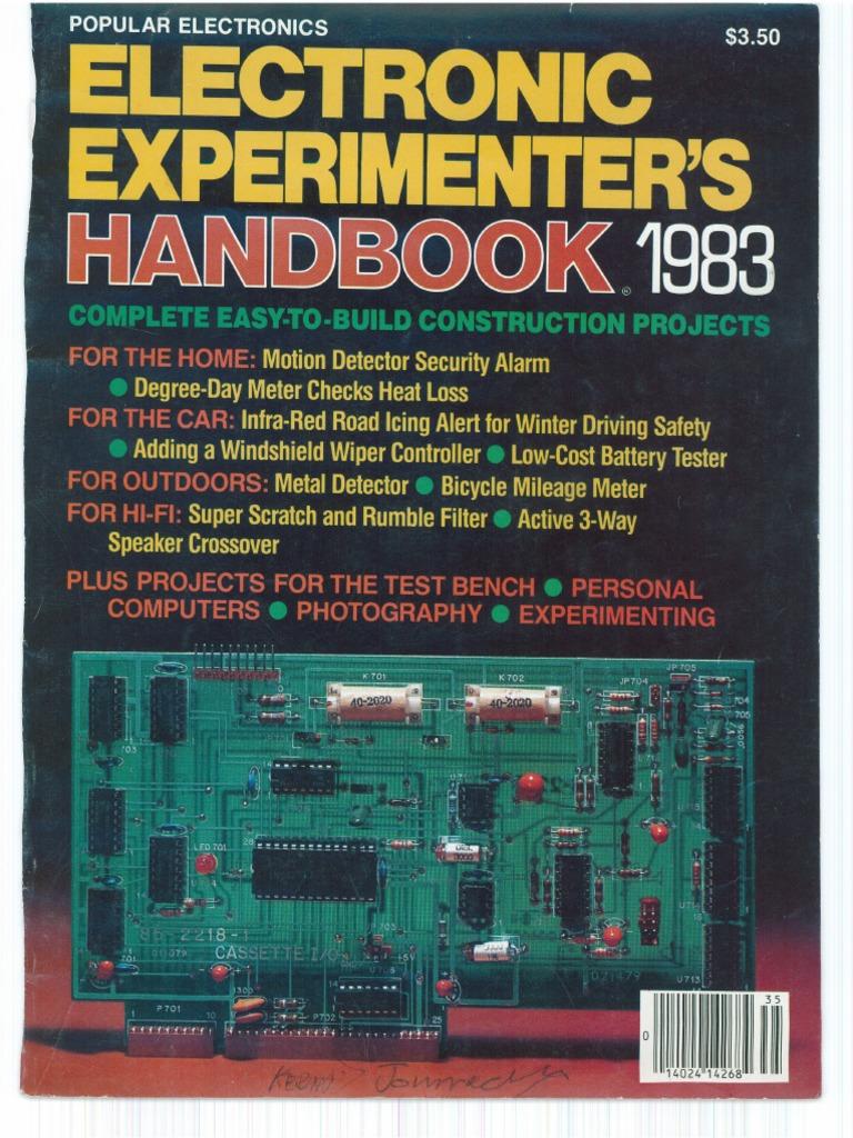 Pleasant Popular Electronics Electronic Experimenters Handbook 1983 Wiring 101 Cabaharperaodorg