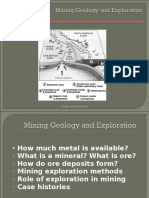 About Mining Geology by Rodger Allen Gold Mine