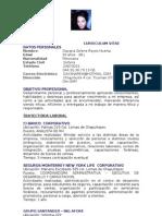 Curriculum Vitae Anel Reyes Huerta