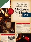 Makers Mark Julep Booklet