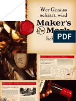 Makers Mark Julep Booklet