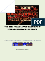 FREE Flipped Teaching Resources eBook