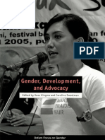 Gender, Development, and Advocacy