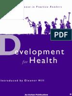 Development for Health